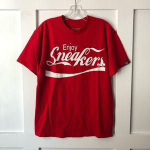 Fully Laced Enjoy Sneakers Short Sleeve T-Shirt
